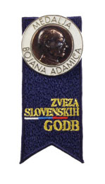 The Bojan Adamič Silver Medal