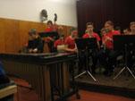Skladba Cikcak za ksilofon in pihalni orkester, igra Pihalni orkester GŠ KGBL, solo Martin Klabus, 4.r GŠ