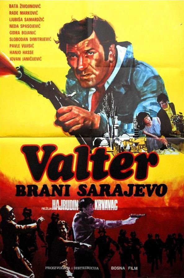 Valter brani Sarajevo v gledališki predstavi na Kitajskem jeseni 2015