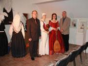 Otvoritev razstave: pevki, Roman Veras in Janez Meglič