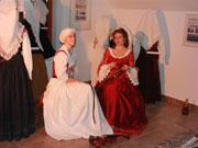 Razstavo sta otvorili glasbenici z gradu Bogenšperk