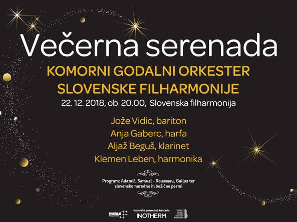 Večerna serenada – Slovenska filharmonija