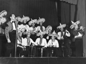 Revija Bojana Adamiča, leta 1942 (Adamič na trobenti)