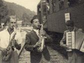 Bojan Adamič s saksofonom