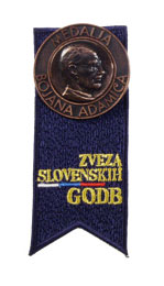 Bronasta medalja Bojana Adamiča