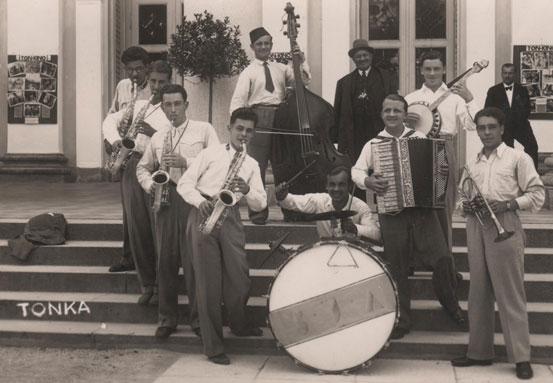 Nastop v Rogaški Slatini leta 1932.