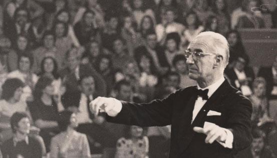 Bojan Adamič – dirigent.