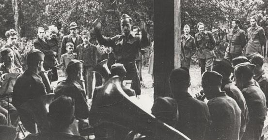 Vojaška godba Glavnega štaba Slovenije – avgust 1944.