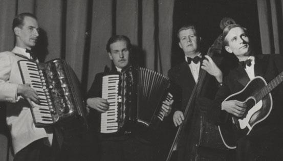 Bojan Adamič, Vlado Golob, Samo Hubad in Leon Ponikvar.